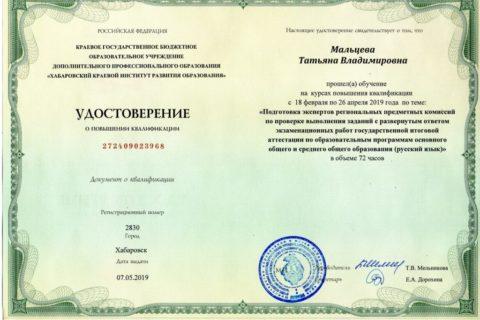 Эксперт ГИА (Русский) 1