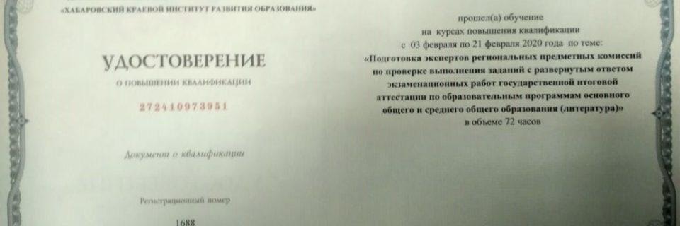 Эксперт ГИА (литература)
